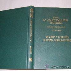 Libros de segunda mano: TRATADO LA ANATOMÍA DEL HOMBRE. PULMÓN Y CORAZÓN. SISTEMA CIRCULATORIO.DOCTOR BOURGERY RM55021. Lote 29150661
