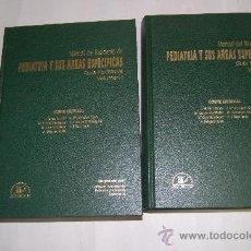Libros de segunda mano: MANUAL DEL RESIDENTE DE PEDIATRÍA Y SUS ÁREAS ESPECÍFICAS.GUÍA FORMATIVA DOS TOMOS VV.AARM31085. Lote 29231459