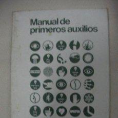 Libros de segunda mano: MANUAL DE PRIMEROS AUXILIOS DE LA CRUZ ROJA (CE12). Lote 29546157