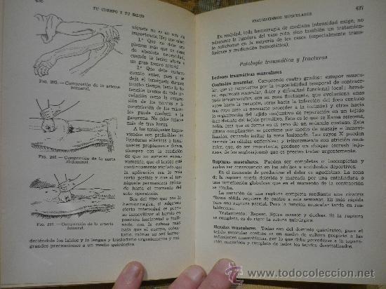 Libros de segunda mano: TU CUERPO Y TU SALUD DEL DOCTOR F. GOUST. 1ª EDICION 1.964. - Foto 4 - 29772673