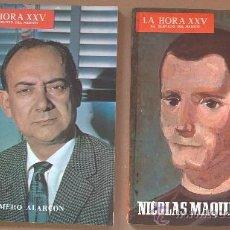 Libros de segunda mano: &LA HORA XXV AL SERVICIO DEL MEDICO -AÑOS 50-60./IMPORTANTE PUBLICIDAD/14,DISTINTOS- ILUSTRADO. Lote 30139138