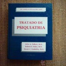 Libros de segunda mano: TALBOT/HALES/YUDOFSKY. THE AMERICAN PSYCHIATRIC PRESS TRATADO DE PSIQUIATRÍA. 1989. 1ª ED.. Lote 30526455