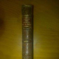 Libros de segunda mano: MANUAL DE LA SALUD MEDICINA Y FARMACIA DOMESTICAS POR RASPAIL 1896 MADRID. Lote 30744917