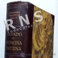 Libros de segunda mano: ANTIGUO LIBRO TRATADO MEDICINA INTERNA ENFERMEDADES DE LA SANGRE TOMO II - DR. HEILMEYER - LÁBOR. Lote 31131423