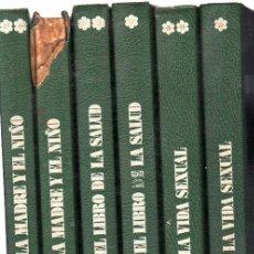 Libros de segunda mano: ENCICLOPEDIA FAMILIAR DE LA SALUD, EDICIONES DANAE, BARCELONA, 1974, 6 VOLÚMENES,. Lote 31488143