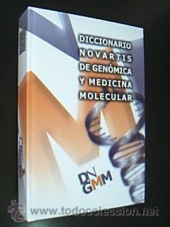 DICCIONARIO NOVARTIS DE GENÓMICA Y MEDICINA MOLECULAR. INCLUYE CD. RUBES ED, 1ª ED, 2006 NUEVO (Libros de Segunda Mano - Ciencias, Manuales y Oficios - Medicina, Farmacia y Salud)