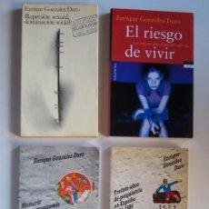 Libros de segunda mano: 5 LIBROS DEL PSIQUIATRA GONZÁLEZ DURO: REPRESIÓN SEXUAL, MANICOMIO, DERECHOS HUMANOS .... Lote 133642582