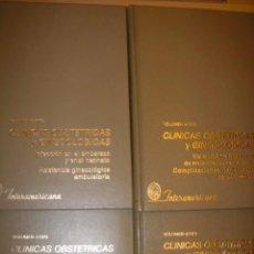 Libros de segunda mano: CLINICAS OBTETRICAS GINECOLOGICAS TOMOS 1,2,3,4 AÑO 1978. Lote 32760960