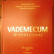 Libros de segunda mano: VADEMECUM INTERNACIONAL /MEDICAMENTOS: PRODUCTOS Y ARTICULOS DE PARAFARMACIA /METODOS DE DIAGNOSTICO. Lote 32840369