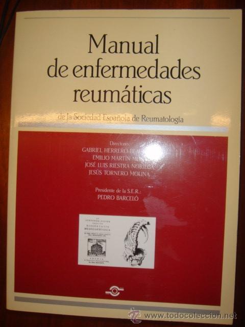 MANUAL DE ENFERMEDADES REUMATICAS (Libros de Segunda Mano - Ciencias, Manuales y Oficios - Medicina, Farmacia y Salud)