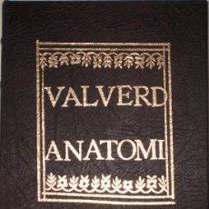 Libros de segunda mano: ANATOMÍA DEL CUERPO HUMANO DE JUAN VALVERDE (FACSIMIL EDICIÓN 1560). Lote 32882285
