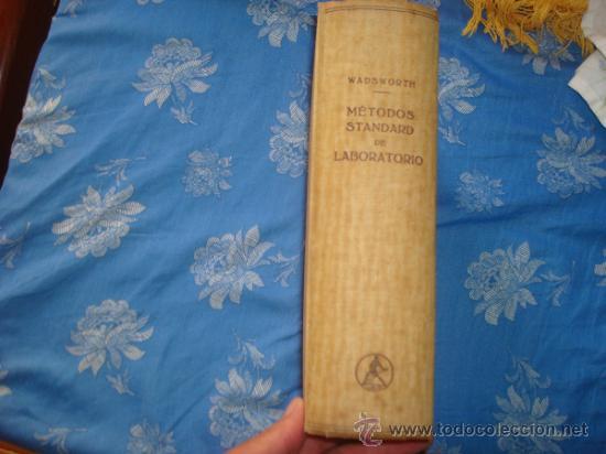 Libros de segunda mano: metodo standard de laboratorio 1943- - Foto 2 - 33421460