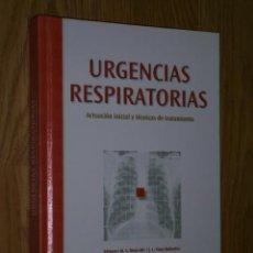 Libros de segunda mano: URGENCIAS RESPIRATORIAS POR MOYA MIR Y VIEJO BAÑUELOS DE ADALIA FARMA EN MADRID 2002. Lote 33723599