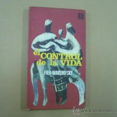 Libros de segunda mano: FRED WARSHOFKY - EL CONTROL DE LA VIDA (PLAZA & JANES,) - GENÉTICA- GENOMA HUMANO TDK107. Lote 34104409