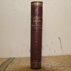 Libros de segunda mano: 1810- MANUAL DE TERAPEUTICA. X.ARNOZAN. EDIT JOSE ESPASA S/F. TOMO I. Lote 34340684
