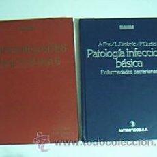 Libros de segunda mano: LOTE 2 TÍTULOS: PATOLOGÍA INFECCIOSA BÁSICA. ENFERMEDADES BACTERIANAS. ENFERMEDADES INFECCIOSAS. Lote 34474740