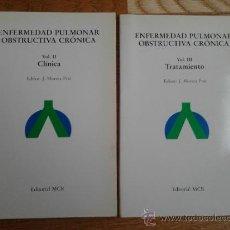 Libros de segunda mano: ENFERMEDAD PULMONAR (DOS TOMOS). Lote 34950263