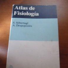 Libros de segunda mano: ATLAS DE FISIOLOGIA - S.SILBERNAGL - A.DESPOPOULOS - 1982. Lote 35916880