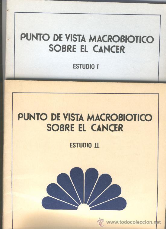Dieta macrobiotica para cancer