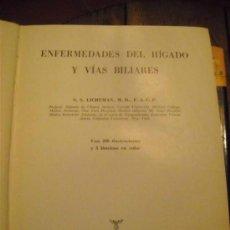 Libros de segunda mano: ENFERMEDADES DEL HÍGADO Y VÍAS BILIARES.S.S. LICHTMAN,M.D.,F.A.C.P.. Lote 36030069