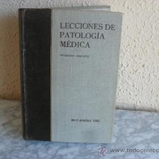 Libros de segunda mano: LECCIONES PATOLOGIA MEDICA,2ª EDICION DR JIMENEZ DIAZ. Lote 36764625