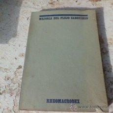 Libros de segunda mano: LIBRO MEJORIA DEL FLUJO SANGUINEO INSTITUTO DE BIOLOGIA Y SUEROTERAPIA L-3285. Lote 36795192