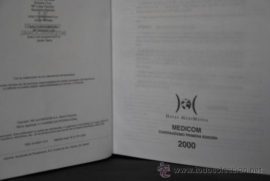 Libros de segunda mano: VADEMECUM INTERNACIONAL - AÑO 2000 - INCLUYE CD ROM - Foto 3 - 36987542