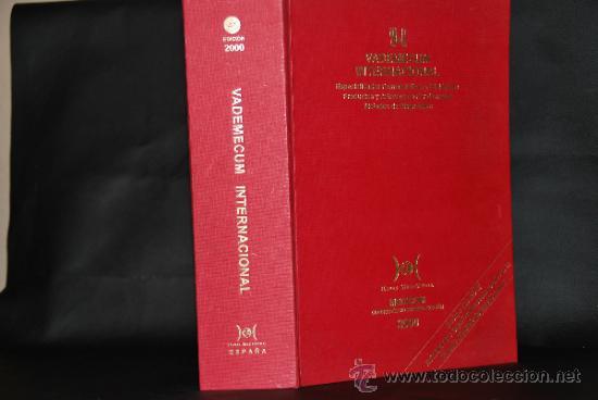 VADEMECUM INTERNACIONAL - AÑO 2000 - INCLUYE CD ROM (Libros de Segunda Mano - Ciencias, Manuales y Oficios - Medicina, Farmacia y Salud)
