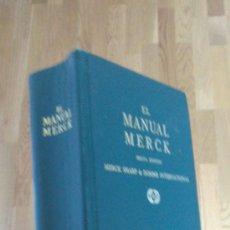 Libros de segunda mano: EL MANUAL MERCK DE DIAGNÓSTICO Y TERAPÉUTICA.. Lote 37617639