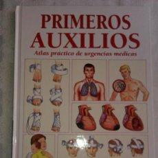 Libros de segunda mano: PRIMEROS AUXILIOS - ATLAS PRACTICO DE URGENCIAS MEDICAS - SALUD Y PREVENCION - IDIOMA ESPAÑOL. Lote 37588088