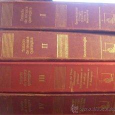 Libros de segunda mano: TRATADO DE TECNICA QUIRURGICA. COMPLETA EN 4 TOMOS CON SUS 160 FASCICULOS (LBB2). Lote 37640414