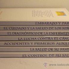 Libros de segunda mano: 7 TOMOS DE LA BIBLIOTECA MÉDICA FAMILIAR DEL CÍRCULO DE LECTORES - ED. EVERGRÁFICAS 1992/93. Lote 38595946