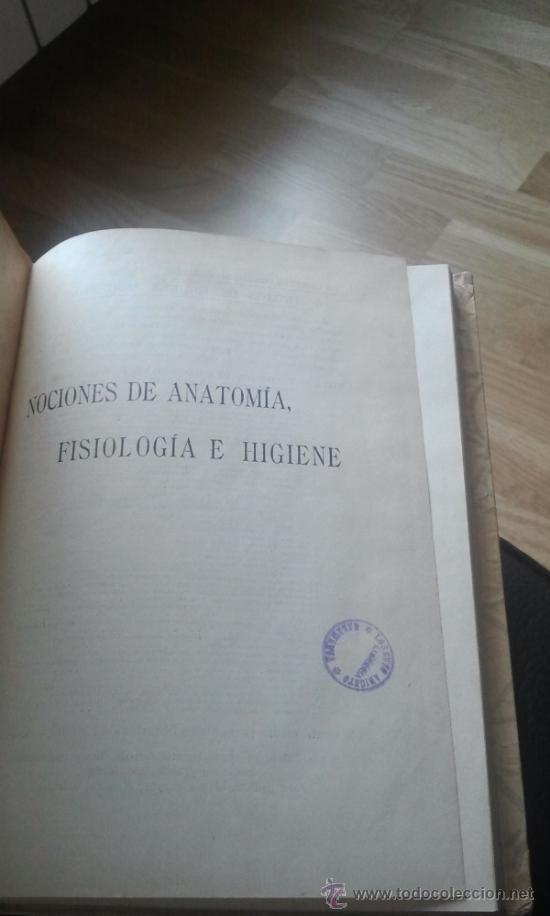 nociones de anatomia, fisiologia e higiene. ore - Comprar Libros de ...