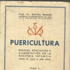 Libros de segunda mano: PUERICULTURA. RAFAEL RAMOS. TOMO II. AÑO TRIUNFAL. SALAMANCA. 1938. Lote 38767148