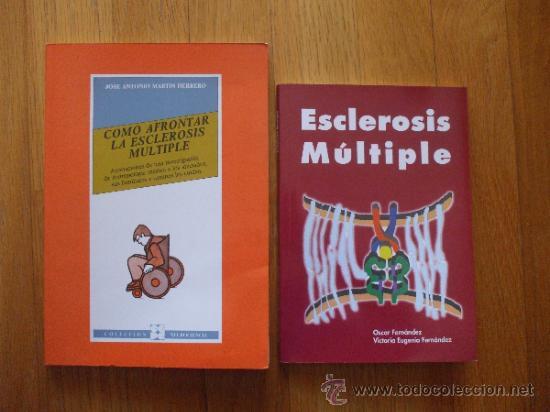 ESCLEROSIS MULTIPLE LOTE 2 LIBROS (Libros de Segunda Mano - Ciencias, Manuales y Oficios - Medicina, Farmacia y Salud)