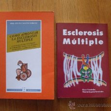 Libros de segunda mano: ESCLEROSIS MULTIPLE LOTE 2 LIBROS. Lote 38985286