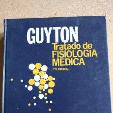 Libros de segunda mano: TRATADO DE FISIOLOGÍA MÉDICA. SÉPTIMA EDICIÓN. GUYTON (DR. ARHUR C.). Lote 39336551