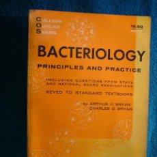 Libros de segunda mano: ARTHUR BRYAN: - BACTERIOLOGY : PRINCIPLES AND PRACTICE - (NEW YORK, 1962) (MEDICINA). Lote 39434574