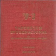 Libros de segunda mano: VADEMECUM INTERNACIONAL. 5ª EDICIÓN. DAIMON. BARCELONA. 1964. Lote 39519809