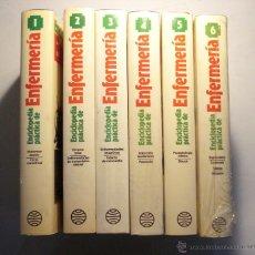 Libros de segunda mano: ENCICLOPEDIA PRACTICA DE ENFERMERIA - 6 TOMOS COMPLETA -ED. PLANETA . Lote 39610621