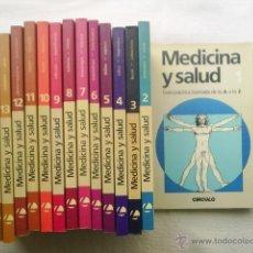 Libros de segunda mano: EDICION ESPECIAL EN 15 VOLUMENES DEL CIRCULO DE ELECTORES - MEDICINA Y SALUD - 1987. Lote 39877386