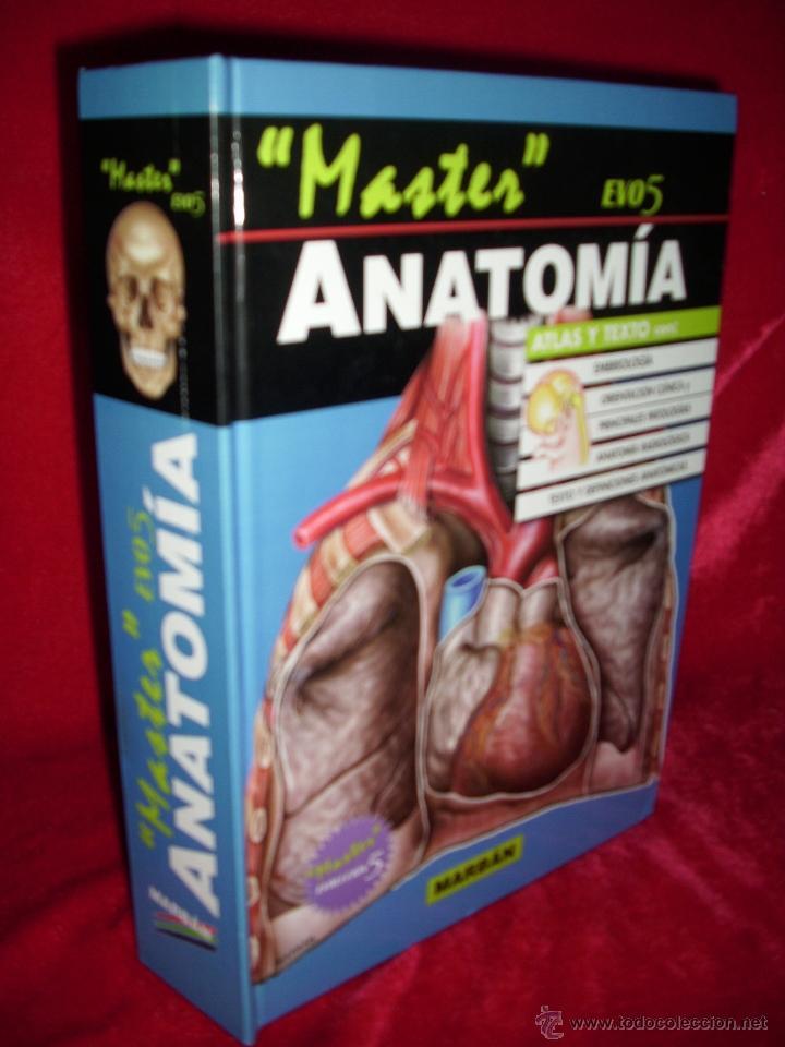 anatomia , atlas y texto , master evo 5 ed marb - Comprar Libros de ...