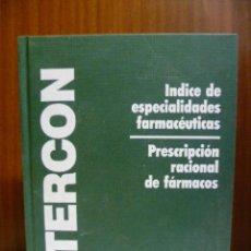 Libros de segunda mano: INTERCON 96, INDICE DE ESPECIALIDADES FARMACEUTICAS - 1968 PAG.. Lote 40462006