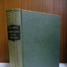 Libros de segunda mano: MEDICINA PARA TODOS, DR. J. BIERGE - SOPENA 1980 (VER FOTOS). Lote 40709197