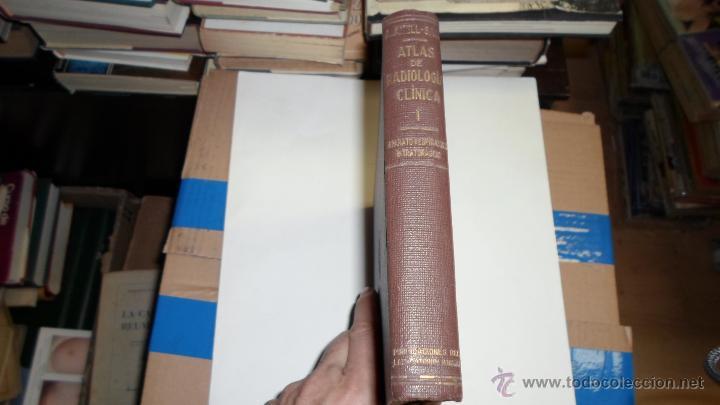 A.AMELL-SONS. ATLAS DE RADIOLOGIA CLINICA, BARCELONA, 1931 (Libros de Segunda Mano - Ciencias, Manuales y Oficios - Medicina, Farmacia y Salud)