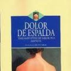 Libros de segunda mano: DOLOR DE ESPALDA. Lote 41310275
