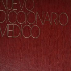 Libros de segunda mano: NUEVO DICCIONARIO MÉDICO. RAFAEL RUIZ LARA, LUIGI SEGATORE, GIANANGELO P. RM64680. Lote 41529763