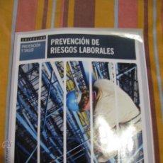 Libros de segunda mano: PREVENCION DE RIESGOS LABORALES. Lote 41622126