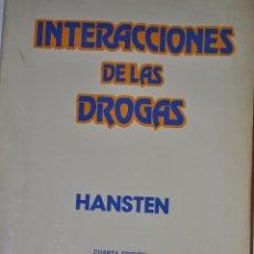 Libros de segunda mano: INTERACCIONES DE LAS DROGAS. PHILIP D. HANSTEN RM64878. Lote 41706490