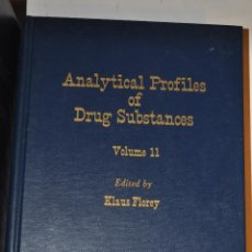 Libros de segunda mano: ANALYTICAL PROFILES OF DRUG SUBSTANCES. ONCE TOMOS. KLAUS FLOREY (EDI.) RM64898. Lote 41710435